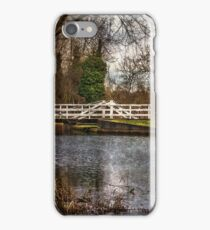 Sulhamstead Swing Bridge On The K&A iPhone Case/Skin