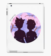 BokuAka - Cherry Blossoms iPad Case/Skin