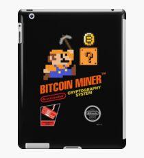 Bitcoin Geek Nintendo Gaming Funny Mario Mashup  iPad Case/Skin