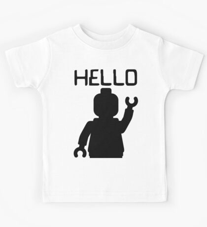 Minifig Hello Kids Clothes