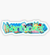 Nantucket Sticker Sticker