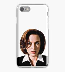Dana Katherine Scully iPhone Case/Skin