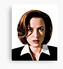 Dana Katherine Scully Canvas Print