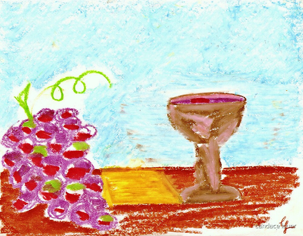 holy communion by candace lauer