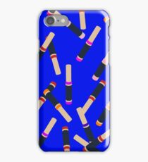 Blue Lipstick iPhone Case/Skin