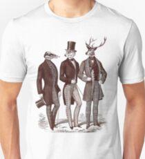 Gentlemen In The Woods Unisex T-Shirt