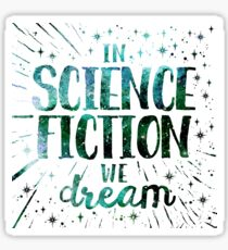 Read Dream Science Fiction  Sticker