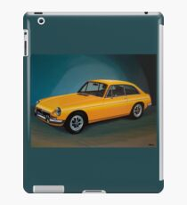 MGB GT Painting iPad Case/Skin