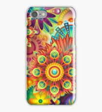 The Colorful Dance iPhone Case/Skin