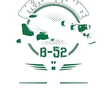 Air Force B-52 Bomber T Shirt by minnesotabobs