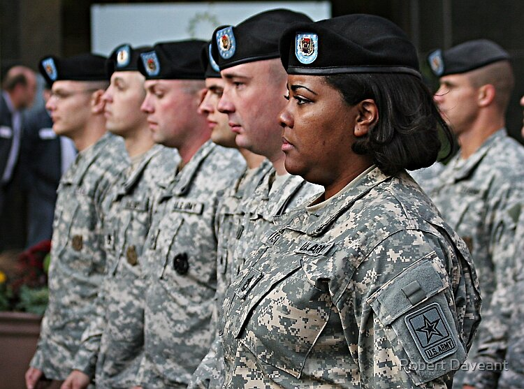 us army by Robert Daveant