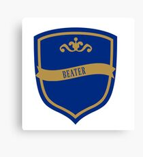 Blue and Bronze Badge 5 Canvas Print