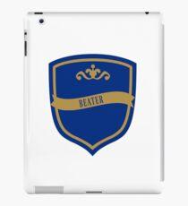 Blue and Bronze Badge 5 iPad Case/Skin