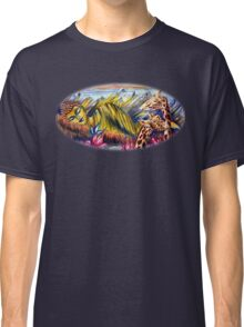 Buddha with Giraffe Classic T-Shirt