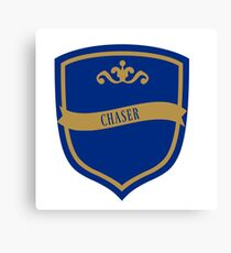 Blue and Bronze Badge 7 Canvas Print