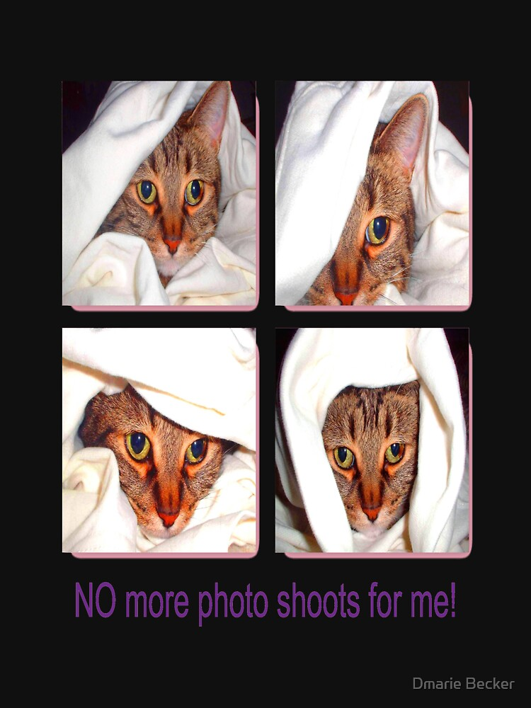 No More Photo Shoots by dmarie