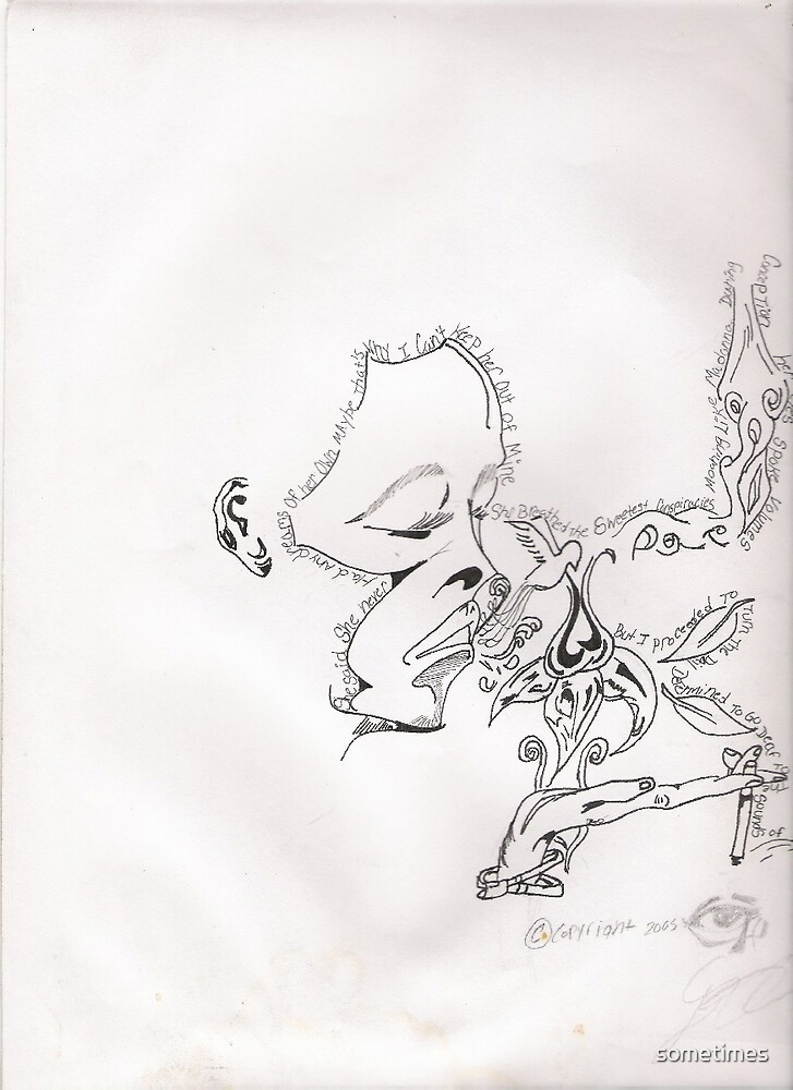 "sketch from ""96"" by sometimes"