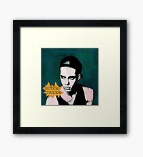 Butch Tricks Framed Print
