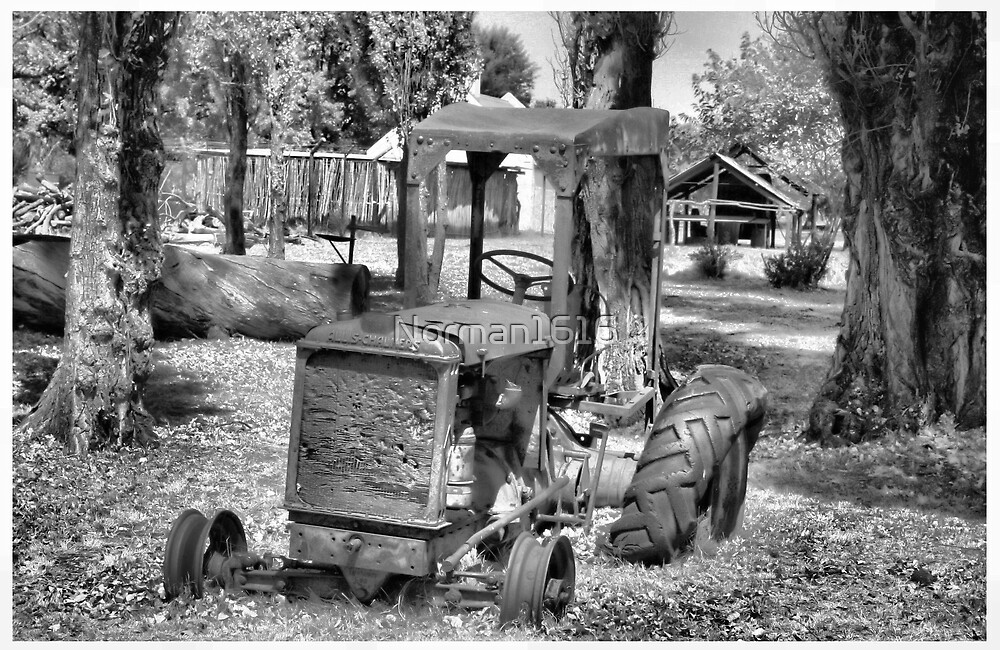 Old Tractor by Norman1616