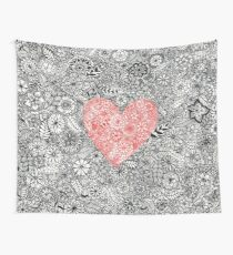 Love and Growth Wall Tapestry