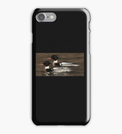 Red-Breasted Merganser's iPhone Case/Skin