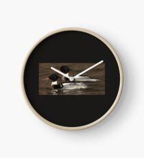Red-Breasted Merganser's Clock