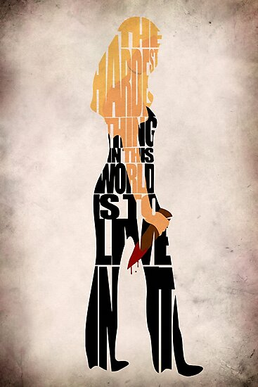 Buffy the Vampire Slayer by geekmywall