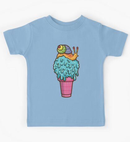 Crazy Snail Cone Kids Clothes