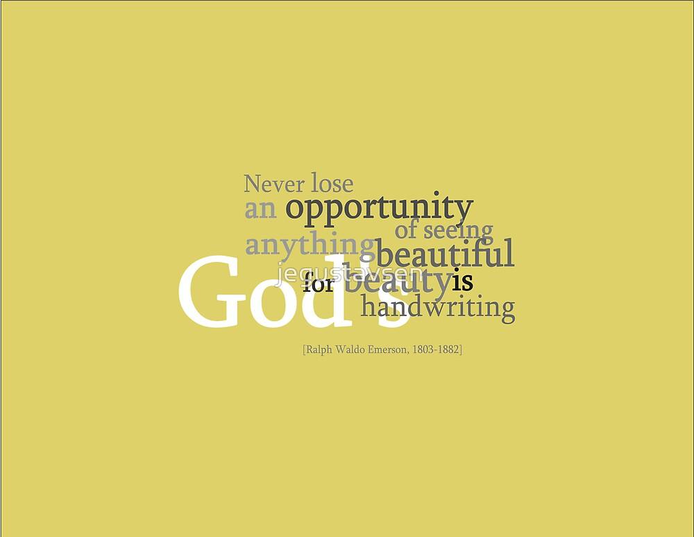 God's Beauty by jegustavsen