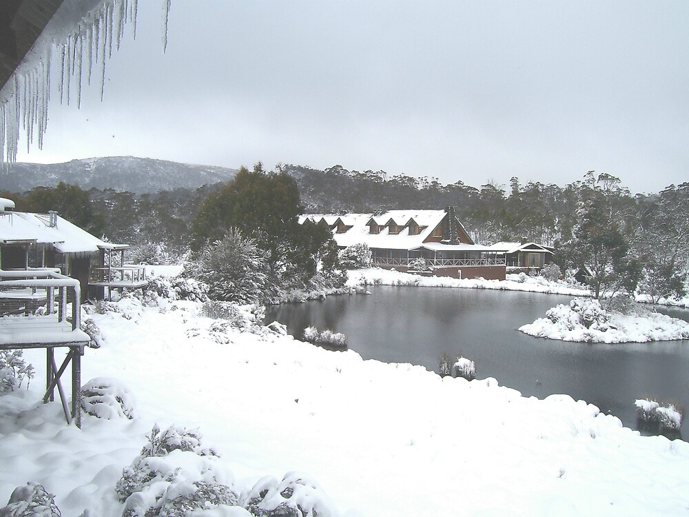 snowed in at Cradle Mountain, Tasmania (sept 2006) by gaylene