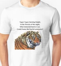 The Tyger - William Blake Unisex T-Shirt