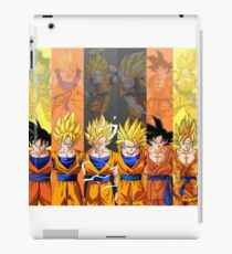Evolution Of Goku iPad Case/Skin