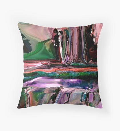 Far-Out..kind of a fun image, Throw Pillow