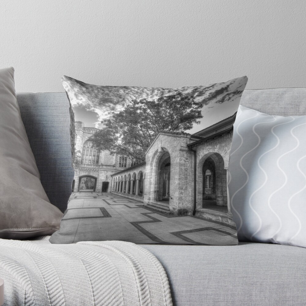The Great Gate Throw Pillow