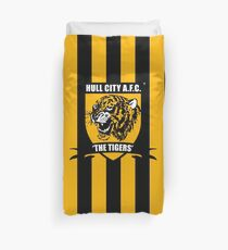 HULL CITY A.F.C. - The Tigers Duvet Cover