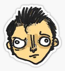 Tenth Doctor Sticker Sticker