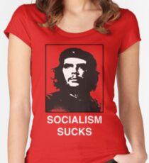 Socialism Sucks - Che Guevara Shirt Women's Fitted Scoop T-Shirt