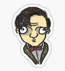 Eleventh Doctor Sticker Sticker