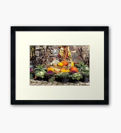 From The Good Earth - A Fruitful Harvest Framed Print