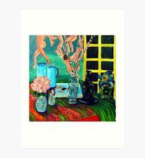 Still LIfe After Matisse Art Print