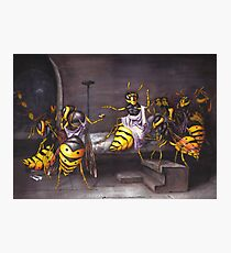 The Death of a Wasp Photographic Print