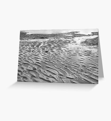 Tide Marks Greeting Card
