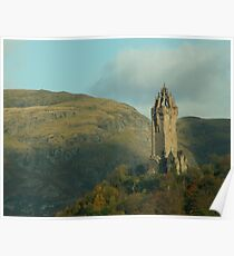 The Wallace Monument Poster