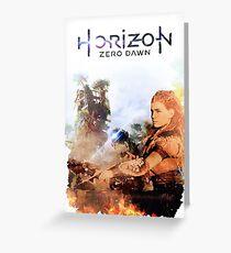 Horizon Zero Dawn Greeting Card