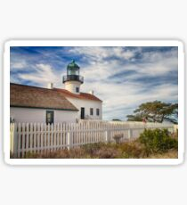 The Old Pt. Loma Lighthouse Sticker