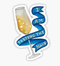 I Am Tasting The Stars Sticker