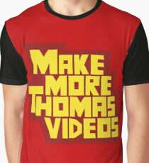 Lucky Hit - Make More Thomas Videos Graphic T-Shirt