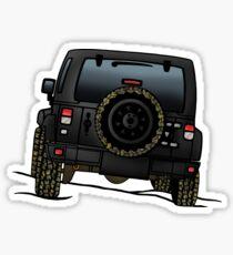 Jeep Wrangler JK [Black] Sticker
