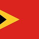 East Timor flag by finirat