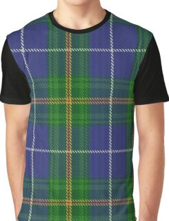 Nova Scotia (Province) District Tartan  Graphic T-Shirt